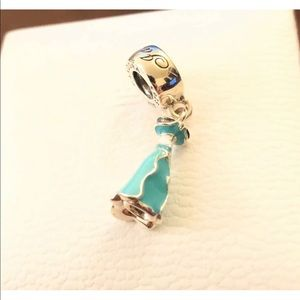Pandora Disney Jasmine's Dress, Charm #791791ENMX